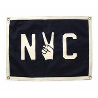 <小型>Oxford Pennant - NYC CAMP FLAG