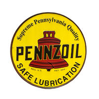 <小型>PENNZOIL Tin Sign