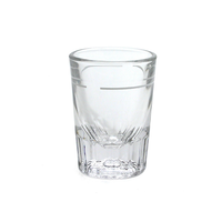 HEAVY DUTY SHOT GLASS 2oz(with 1oz Line)