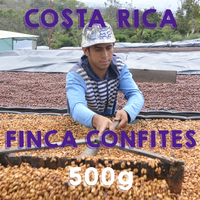【SPECIALTY COFFEE】500g Costa Rica Finca Confites Brumas Red Honey/ コスタリカ コンフィテス農園 ブルマスミル レッドハニープロセス