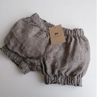 LA PETITE ALICE Linen Ruffled Shorts Ivy(9-12m,12-18m,18-24m)