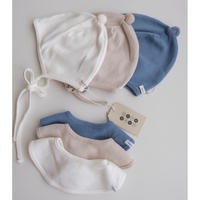 benebene BELL HAT AND BIB SET(全3色)