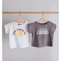 tocoto vintage ORGANIC FLAME BABY T-SHIRT(全2色/9m,12m,18m,2y)