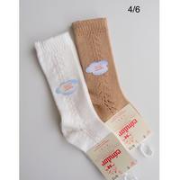 Condor Baby Side Openwork Knee-High Socks(全2色/4(13.5-16cm),6(16.5-19cm) )