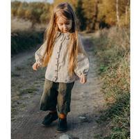 LA PETITE ALICE Linen Shirt Cecille(12-18m,18-24m,2-3y,3-4y,4-5y,5-6y)