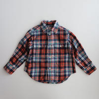 <US USED>POLO Ralph Lauren Plaid Flannel Shirt 2T