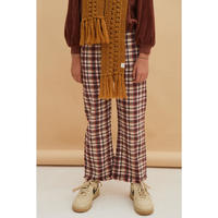 10 ラスト1点 LONGLIVETHEQUEEN check pants
