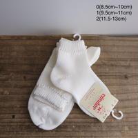 Condor Perle Short Socks(0(8.5cm~10cm),1(9.5cm~11cm),2(11.5-13cm))
