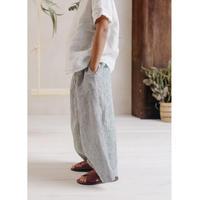 LA PETITE ALICE Linen Pleated Pants Amber(2-3y,3-4y,4-5y,5-6y,6-7y,7-8y,8-9y,9-10y)