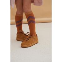 6 ラスト1点 LONGLIVETHEQUEEN striped socks