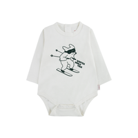 "TINYCOTTONS ""SKIING DOG"" BODY(6m)"