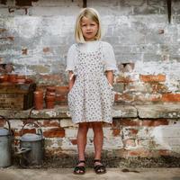 Little Cotton Clothes Roberta Pinafore(2-3Y,3-4Y,4-5Y,5-6Y,6-7Y,7-8Y,8-9Y)