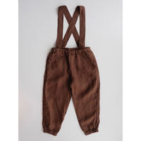 LA PETITE ALICE Linen Pants Jules with Removable Suspenders(3-4y,4-5y,5-6y,6-7y)