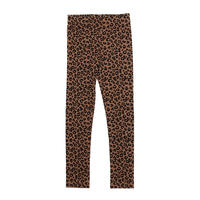 8Yラスト1点 maed for mini Chocolate leopard AOP Leggings