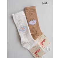 Condor Baby Side Openwork Knee-High Socks(全2色/0(8.5-10cm),1(9.5-11cm),2(11.5-13.5cm))