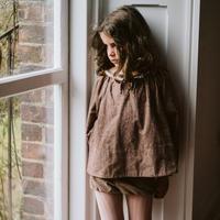 <10/24まで期間限定20%FF>Little Cotton Clothes Olive Blouse(12-18M,18-24M,2-3Y,3-4Y,4-5Y,5-6Y,6-7Y)