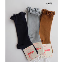 Condor Knee Socks With Lace Edging Cuff(全3色/4(14.5-16cm),6(17-19.5cm),8(20.5-22.5cm))