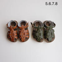 Salt-Water SANDALS SHARK(全2色/CH5(13.3cm))