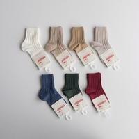 Condor Rib Short Socks(全7色/0(9.5-11.5cm),2(11.5-13.5cm))
