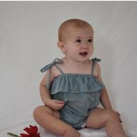 DAUGHTER Maja Romper Azure(3-6m,6-12m,12-18m)