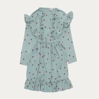 THE CAMPAMENTO Blue Hearts Dress(2Y,5/6Y,7/8Y)
