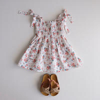 tocoto vintage  Flowers dress(2Y,3Y,4Y,6Y)