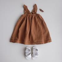 rust 18-24mサイズ ラスト1点 QUINCY MAE Ruffled Tube Dress