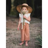 Rylee + Cru ribbon wide brim hat(51cm,53cm)
