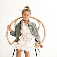 Wynken SAFARI SHIRT DRESS(4y,6y,8y,10y)