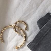 asymmetry hoop pierce
