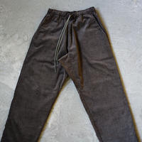 ACTIVE EASY PANTS 7W CORDUROY DARK BROWN