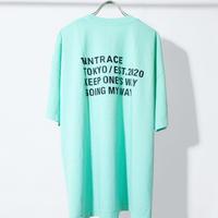 UNTRACE S/S (Mint×Black)