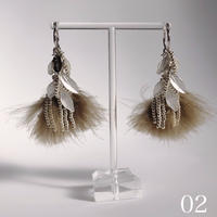 feather (khaki 2type)