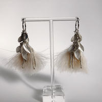 feather (cream pink)