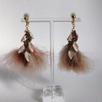feather (pink marble)