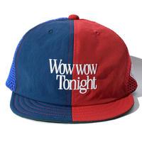 < ELDORESO >WowWow Cap(RED/BL)