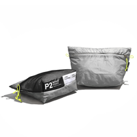 <PAAGO WORKS> W-FACE POUCH 2