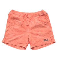 <ranor | ラナー>  TIE DYEING MIDDLE SHORTS (ORANGE)