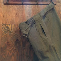 1950's French Army Motorcycle Pants Deadstock