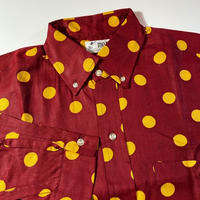 1960's The MOD Dots L/S Shirt Deadstock