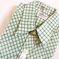 1970's J.SVOBODA SONS Indian Madras S/S Shirt Deadstock