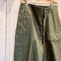 1950's British Army Green Denim Trousers Deadstock