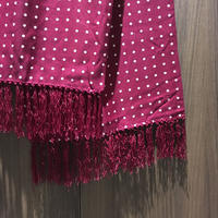 1960〜70's TOOTAL Rayon Dots Scarf