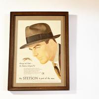 1950〜60's STETSON Advertising Poster