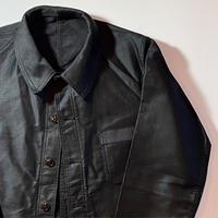1950's KONECO Black Moleskin Jacket Deadstock