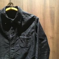 1950's LE MONT ST MICHEL Black Moleskin Jacket