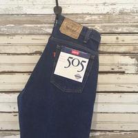 1990's Levi's 505 Denim Pants Deadstock