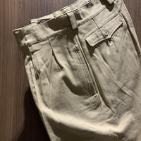 1950〜60's French Army M-52 Chino Trousers Deadstock