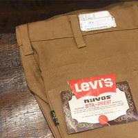 1970's Levi's STA-PREST Tapered Pants Deadstock