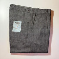 1950's KONECO Black Chambray Trousers